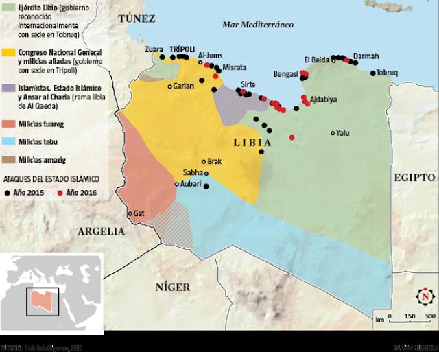 Turquía envia mercenarios del ISIS a Libia