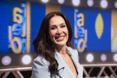 Claudia Raia no programa Talentos, da TV Cultura (Foto: Nadja Kouchi)