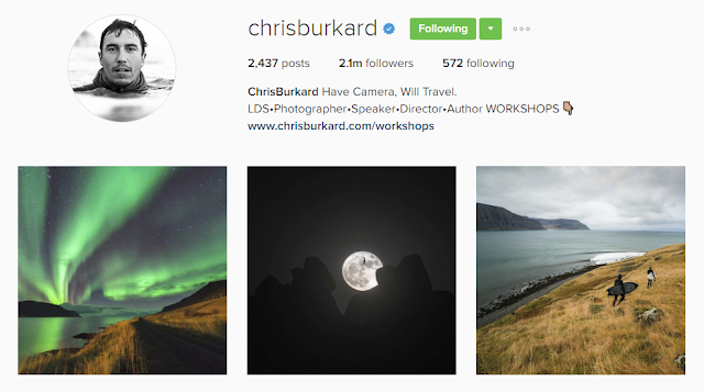 Follow @chrisburkard on Instagram