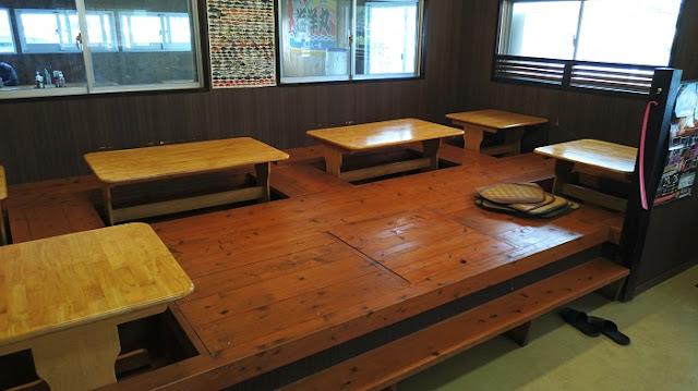 海鮮食堂太陽の座敷席の写真