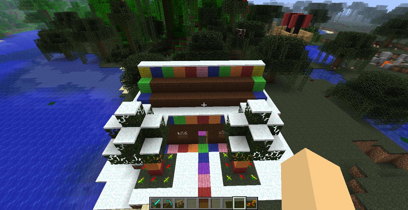 Cjhskavery 19 Minecraft Gingerbread House
