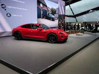 Porsche Taycan premiere in Frankfurt