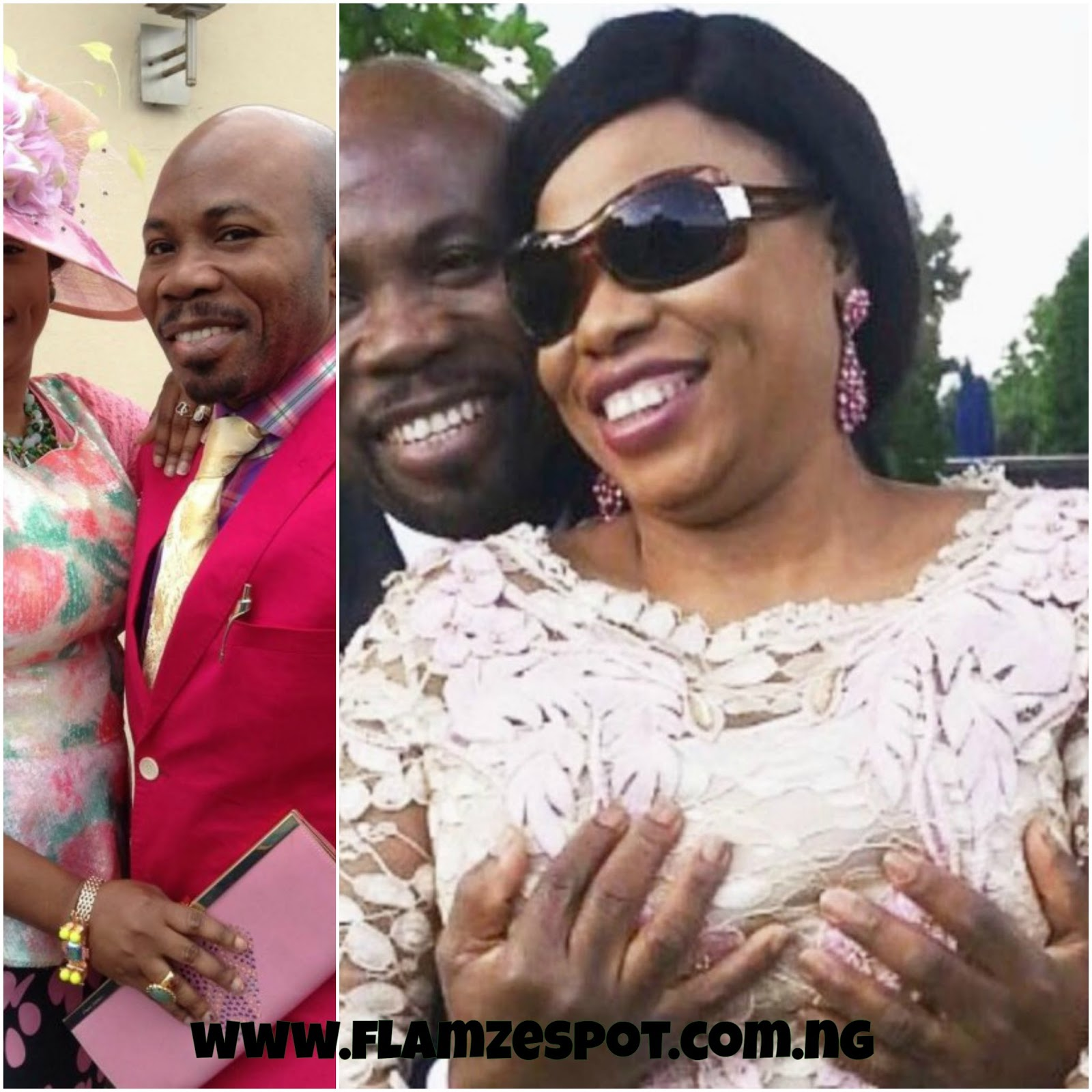UK Based Nigerian Prophet & Prophetess blasted on instagram for holding br3est in public