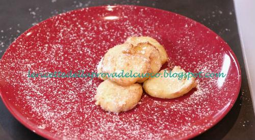 Frittelle dolci di ricotta ricetta Anna Moroni da Ricette all'Italiana