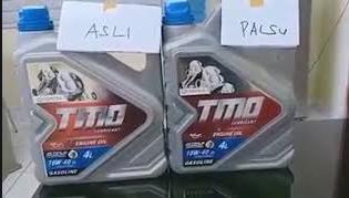 Cara Mengetahui dan Membedakan Oli TMO Asli dan Palsu