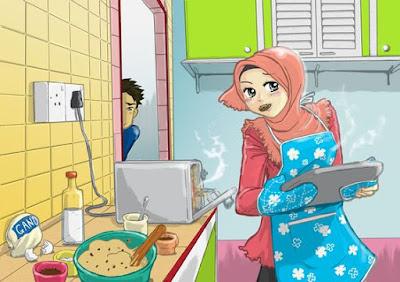 wanita pandai memasak dambaan laki laki