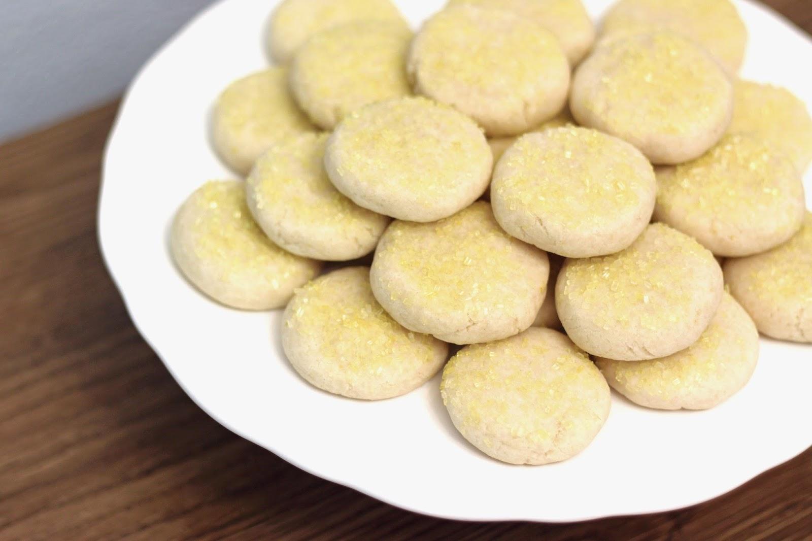 Gluten Free Vegan Lemon Sugar Cookies Sarah Bakes Gluten Free