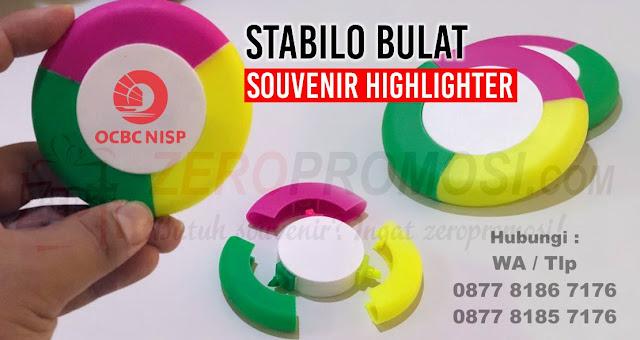 stabilo promosi, souvenir stabilo, highlighter promosi