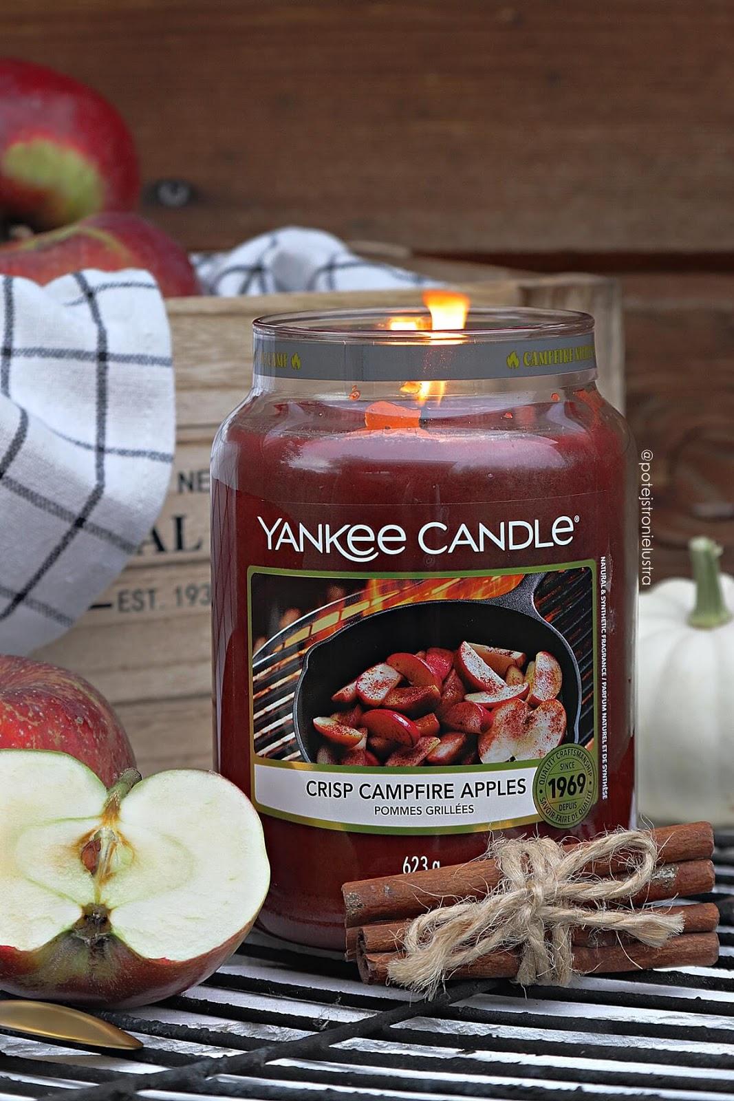 yankee candle crisp campfire apples recenzja blog
