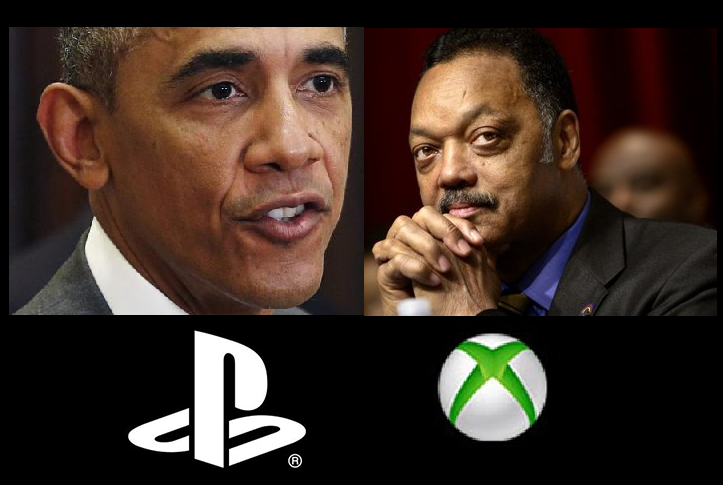 Barack Obama's connection to Sony; Jesse Jackson's connection to Microsoft