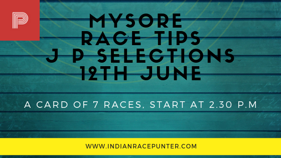 Mysore Race Tips 12th June