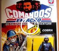 Propaganda dos bonecos 'Comandos em Ação' da Estrela.
