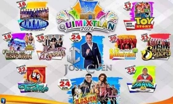 Feria Quimixtlan 2021 Conciertos