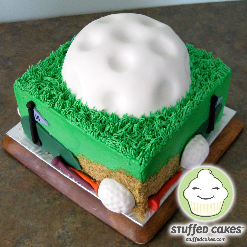 Stuffed Cakes Golf Lovers Cake