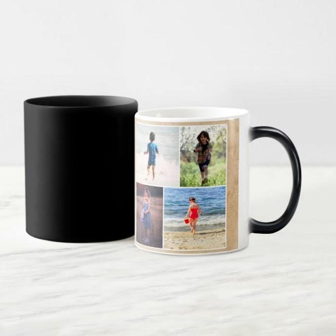 Personalised Photo Magic Mug