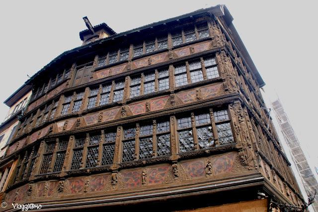 La fiabesca Maison Kammerzel di Strasburgo