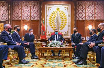 برقية ملكية سامية للرئيس الإسرائيلي، الملك محمد السادس يؤكد على ان العلاقات الثنائية ستحفز السلام في الشرق الأوسط
