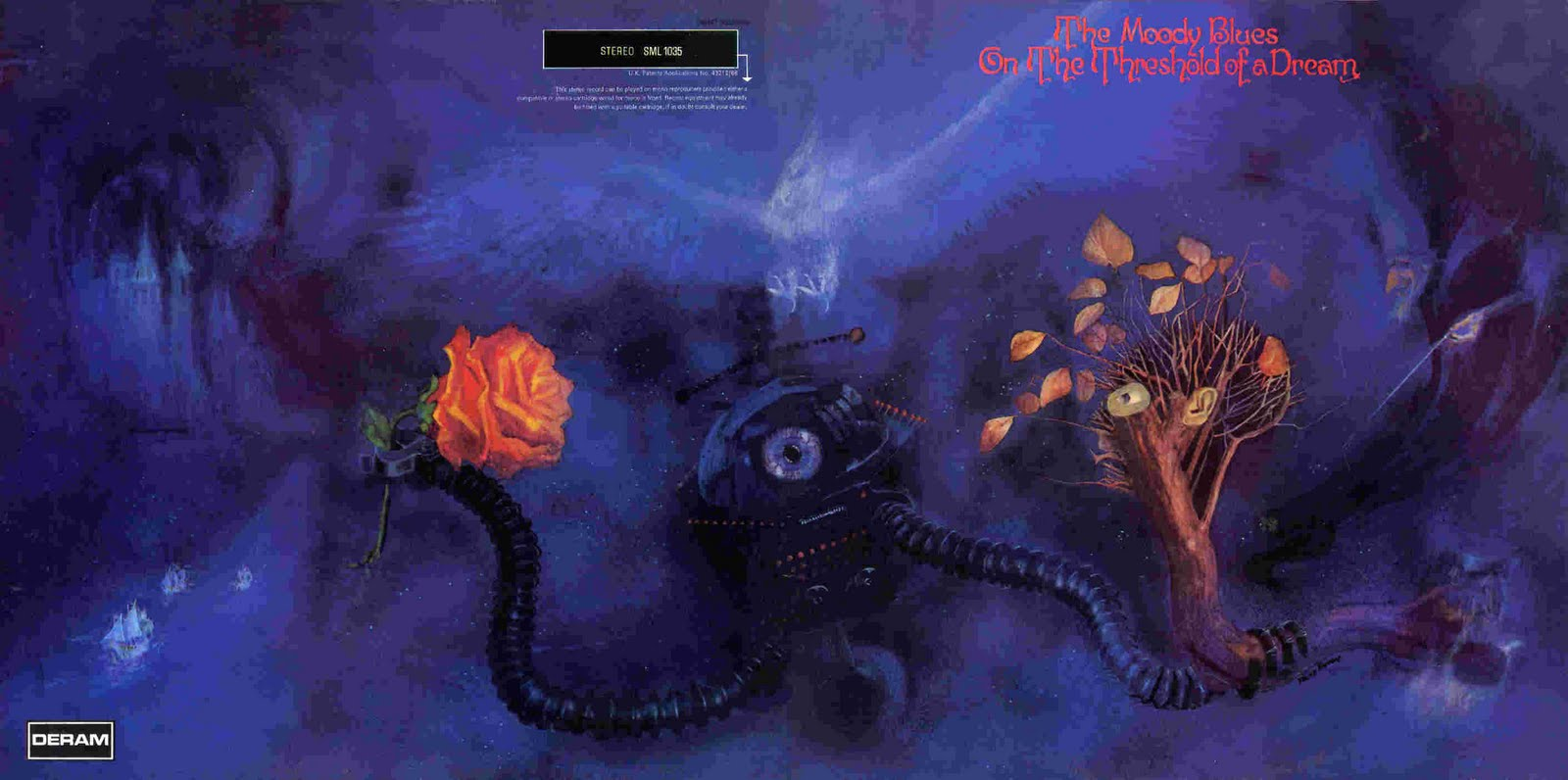 Sgt  Tanuki's Lonely Hearts Club Blog: The Moody Blues: On The