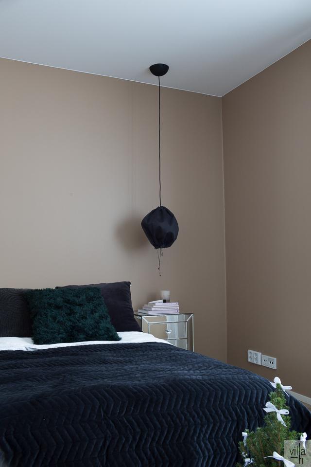 ideoita jouluun, makuuhuone, interior, sisustus, villa h