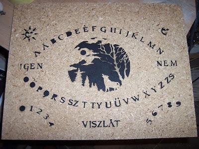 Ouija tábla használata