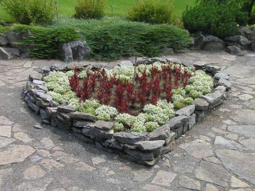 Edging design ideas: Flower Bed Edging Ideas