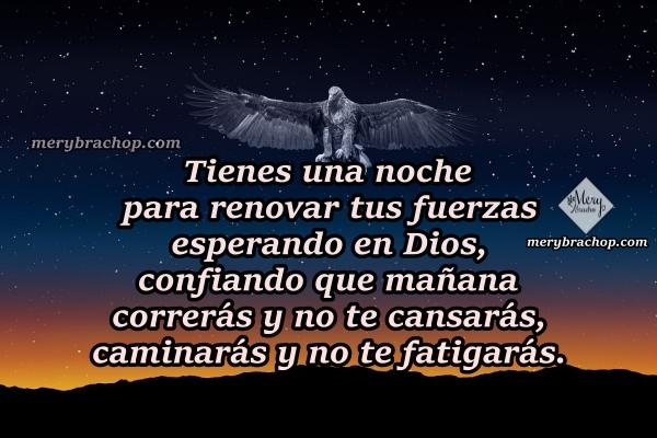 Imágenes con frases cortas de buenas noches, mensajes cristianos para desear una buena noche por Mery Bracho.