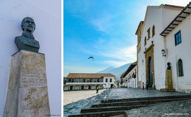 Igreja Matriz de Villa de Leyva e sede do Cabildo