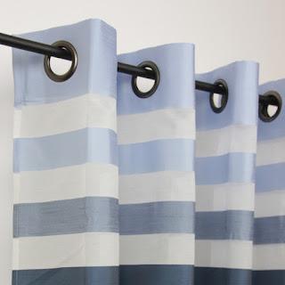 un style marin avec des rideaux bateau le blog des rideaux. Black Bedroom Furniture Sets. Home Design Ideas