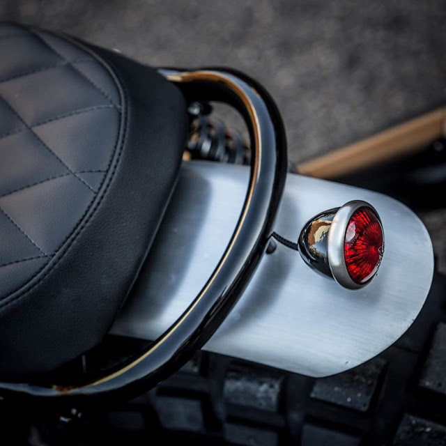 Triumph Bonneville By Down & Out Cafe Racers Hell Kustom