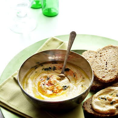 Creamy Chickpea Houmous Appetizer Recipe