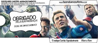 Funda para CD's para imprimir gratis de Vengadores