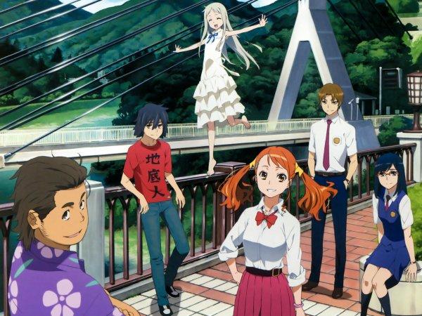 Ano Hi Mita Hana no Namae o Bokutachi wa Mada Shiranai animé sur Netflix
