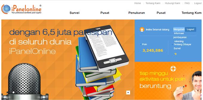 Online Paid Survey : US$ 200 dari Internet Dengan iPanel Online Indonesia Via Paypal