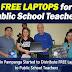 FREE Laptops to Public School Teachers