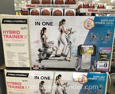 Costco 1148004 - Get your daily workout in with the ProForm Hybrid Trainer XT
