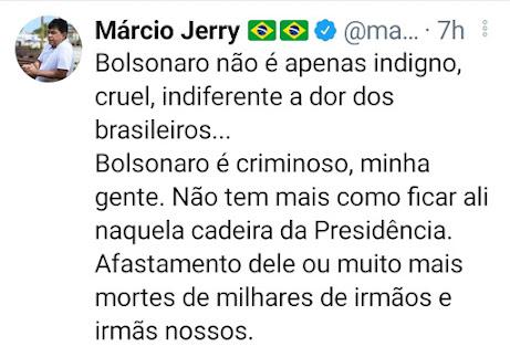 IMPEACHMENT JÁ! Enquanto o pior parlamentar do Maranhão defeca no Twitter, vereador de Imperatriz quer saber onde estão os respiradores!!!
