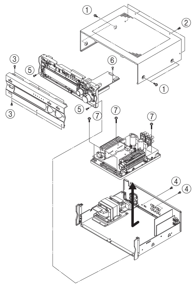 Schematic Diagram Amplifier Yamaha - Wiring Diagrams Schematics