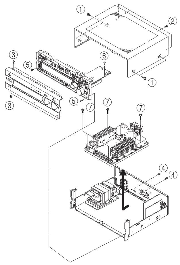 Yamaha AX496 Stereo Amplifier