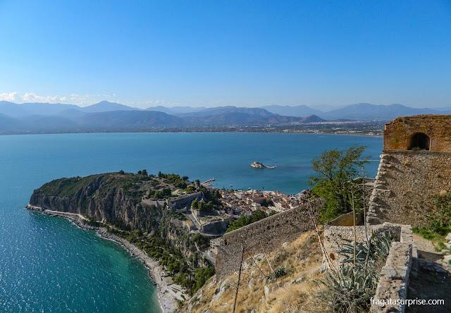 Nafplio, primeira capital da Grécia independente