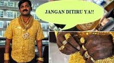 Ini Alasan Islam Melarang Lelaki Memakai Perhiasan Emas