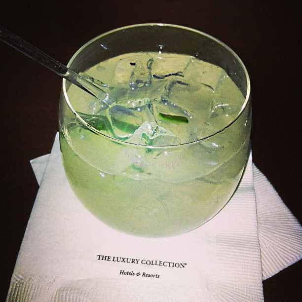 Market Gimlet at The Pied Piper in The Palace Hotel San Francisco