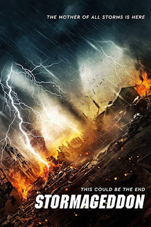Poster Of Stormageddon 2015 In Hindi Bluray 720P Free Download