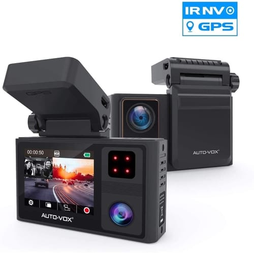 AUTO-VOX FHD Dual Dash Cam Car Camera