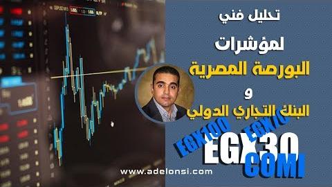 تحليل فني للمؤشر العام للبورصة المصرية (إيجي إكس 30) 29092019