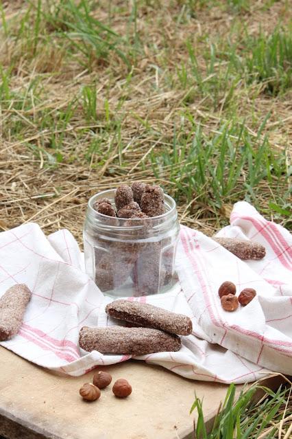 Ciambelline al vino e cacao (biscuits italiens au vin rouge et cacao) - vegan