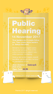 It's Public Hearing Day!