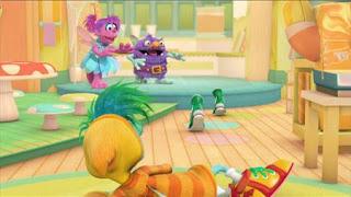 Abby's Flying Fairy School Sugar Plum Fairy Day, Abby Cadabby, Blögg, Gonnigan, Sesame Street Episode 4321 Lifting Snuffy season 43