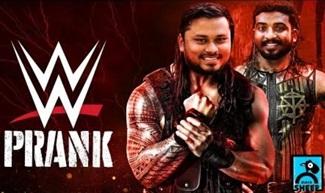 WWE PRANK | FUN PANROM | BLACK SHEEP