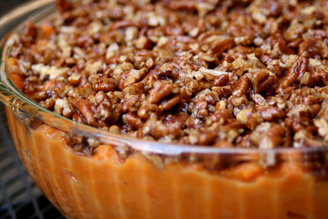 My 1st Vegan Thanksgiving Recipe Round Up CupcakesOMG! Sweet Potato Casserole recipe