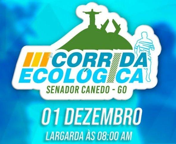 Senador Canedo: Acontece Domingo a 3ª edição da Corrida Ecológica